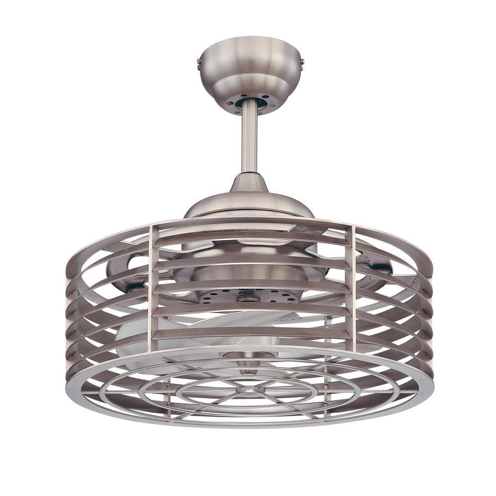 18.5 in. Satin Nickel Ceiling Fan