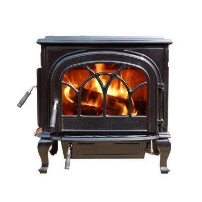 2100 sq. ft. Stallion Enamel Large Wood-Burning Stove