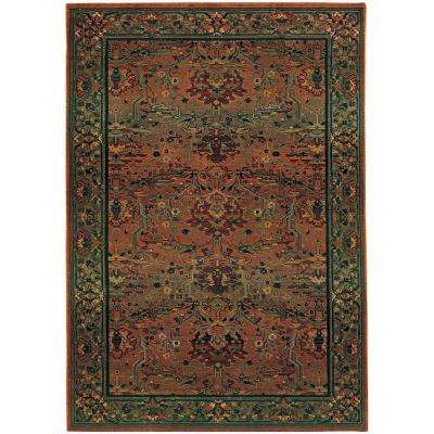 Peace Clay 6 ft. 7 in. x 9 ft. 1 in. Area Rug
