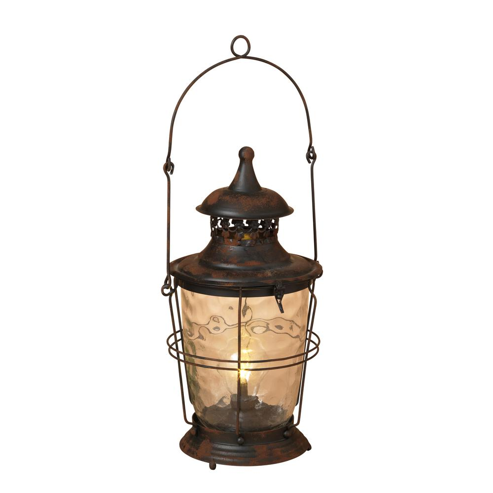 18.75 in. H Antique Lantern