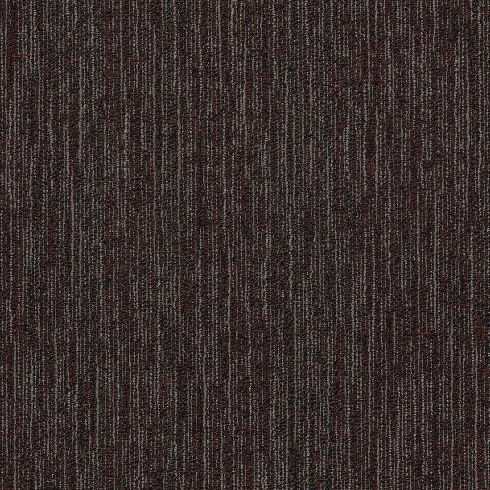 Castaway Phoenix Loop Pattern 24 in. x 24 in. Carpet Tile (20 Tiles/Case)