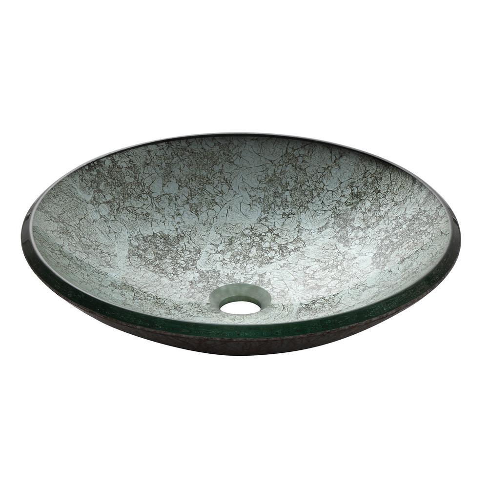 Vessel Sink in Metallic Silver