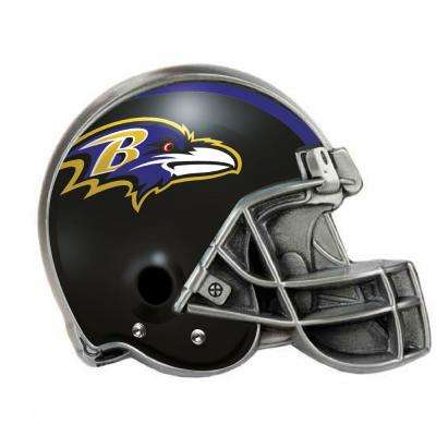 Baltimore Ravens Helmet Hitch Covers