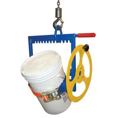 200 lbs. Capacity Manual Overhead Pail Dispenser