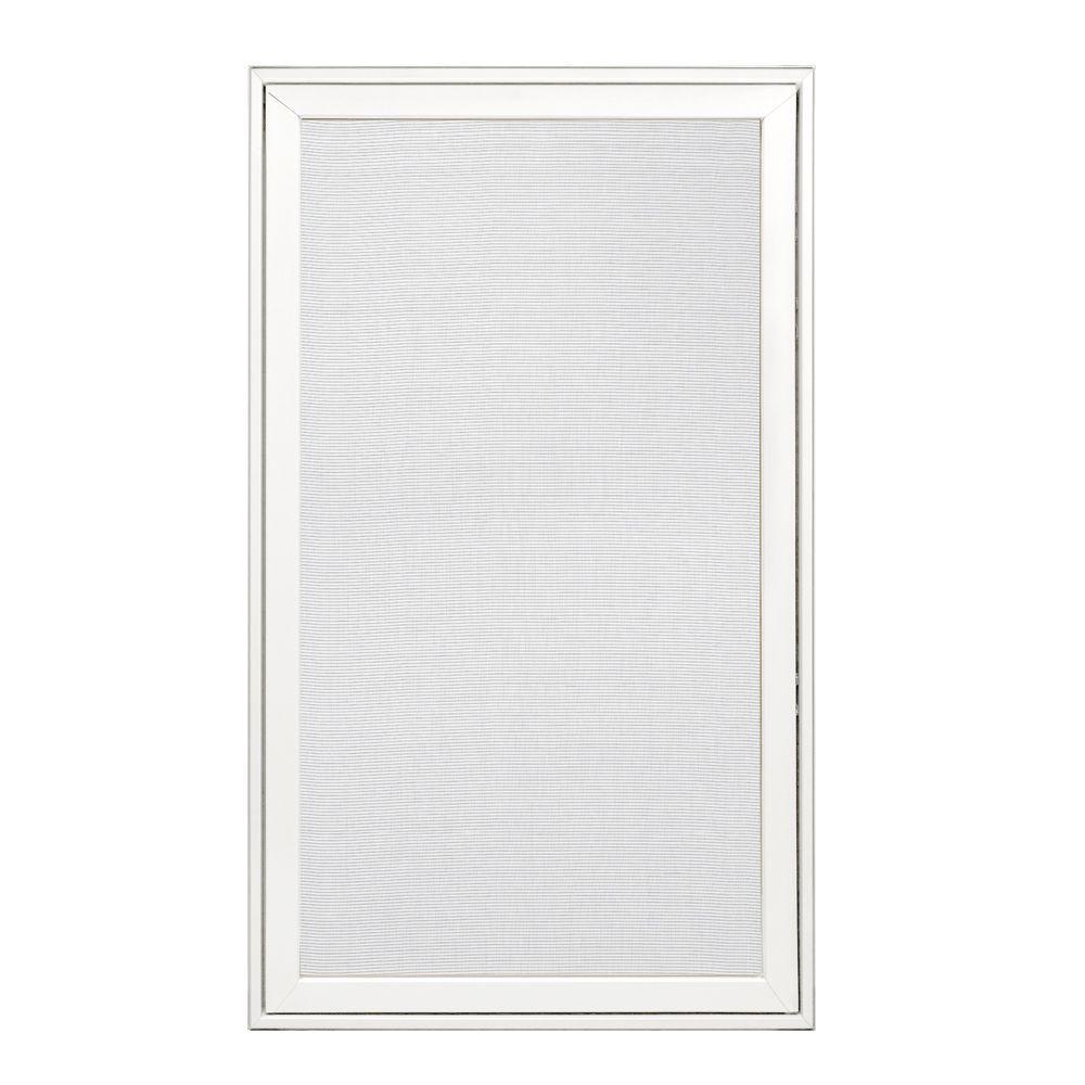 JELD-WEN 28.25 in. x 48.25 in. W-2500 Right-Hand Wood Screen Window