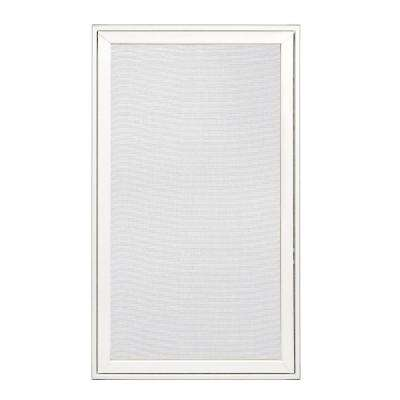 28.25 in. x 48.25 in. W-2500 Left-Hand Wood Screen Window