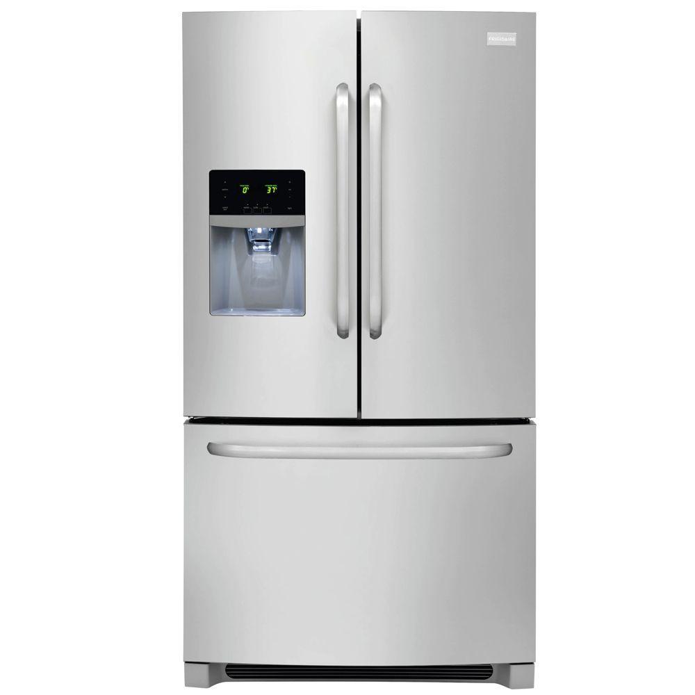 Frigidaire 27.19 cu. ft. French Door Refrigerator in Stainless Steel