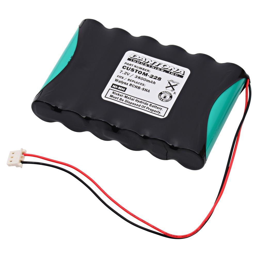 ULTRALAST GREEN Dantona 7 2-Volt 3800 mAh Ni-Cd battery for Honeywell -  LYNXRCHKIT-SHA Lynx Emergency Lighting