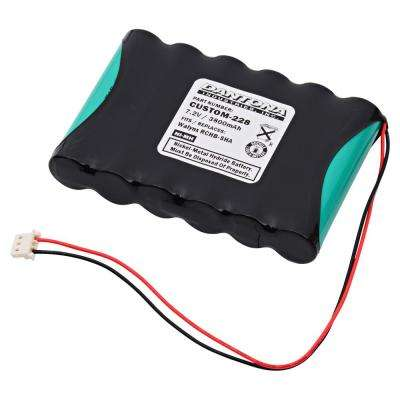 Dantona 7.2-Volt 3800 mAh Ni-Cd battery for Honeywell - LYNXRCHKIT-SHA Lynx Emergency Lighting