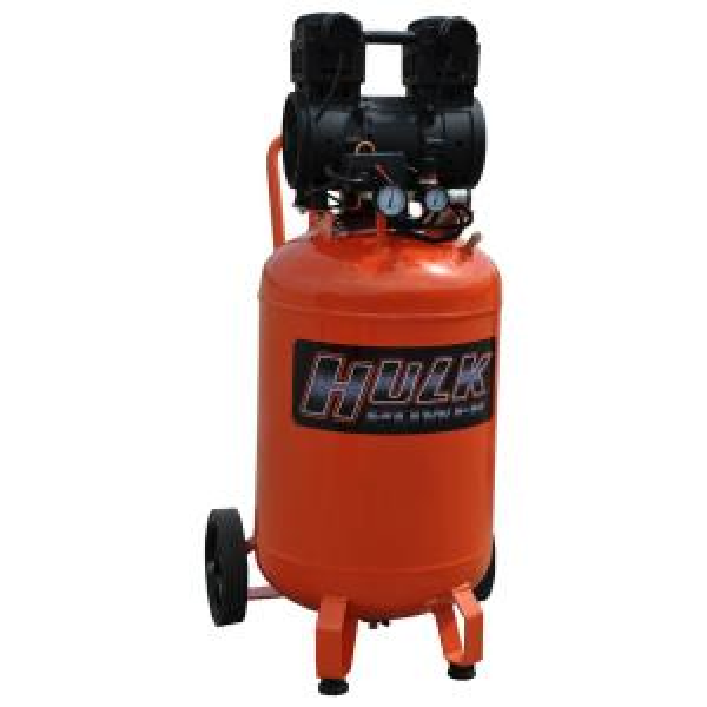 HULK POWER 20 Gal. 2 HP Portable Electric-Powered Vertical Silent Air Compressor by HULK POWER