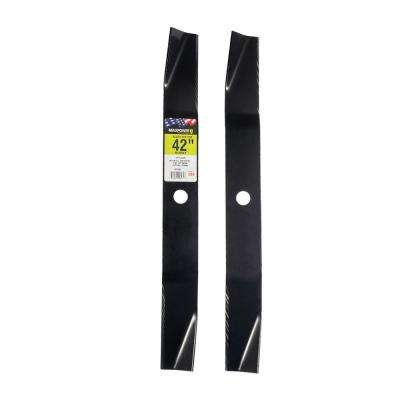 42 in. Cut Mower Blade Set for Murray (2-Pack)