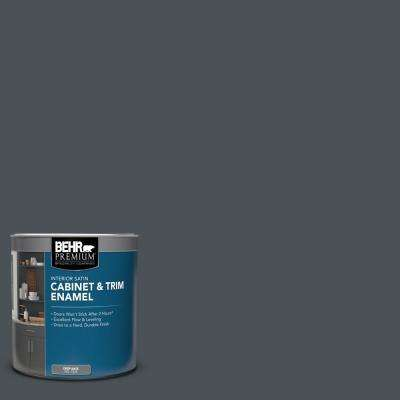 1 qt. #PPU25-22 Chimney Satin Enamel Interior Cabinet and Trim Paint