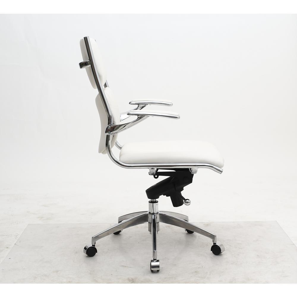 manhattan comfort ergonomic high back verdi white office chair mc
