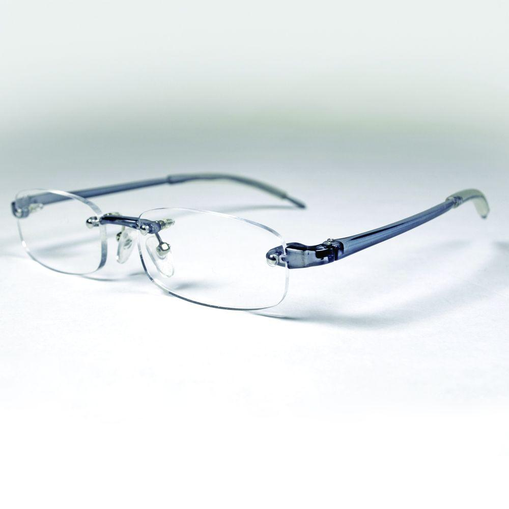 3c175f8c4ab Magnifeye Reading Glasses Sport Gray 2.5 Magnification-86032-14 ...