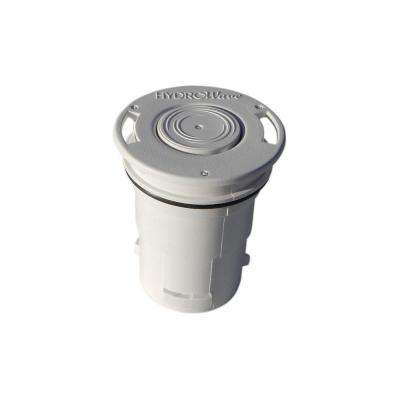 HW7 Low-Flow Blue Square Q360 White In-Floor Pool Pop Up Head Replacement