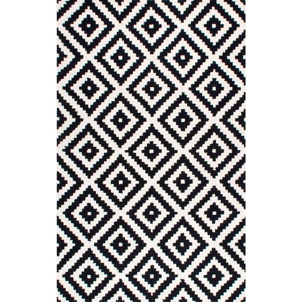 Nuloom Kellee Contemporary Black 9 Ft X 12 Area Rug