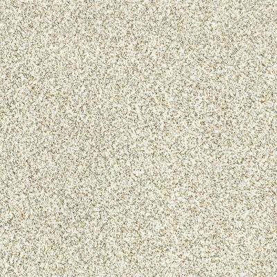 Carpet Sample - Madeline II - Color Bashful Cream Texture 8 in. x 8 in.