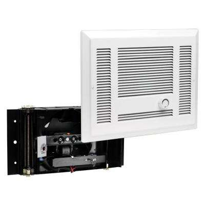SL Series 1,900-Watt 240-Volt Electric In-Wall Fan Heater White