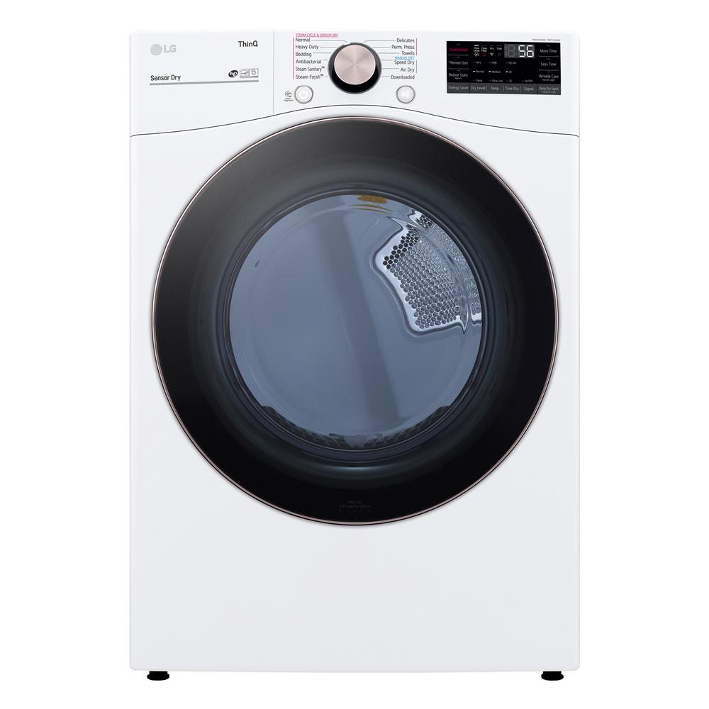 Amana 6 5 Cu Ft 120 Volt White Gas Vented Dryer Ngd4655ew The Home Depot
