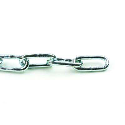 2/0 x 1 ft. Stainless Steel Plated Straight Link Chain