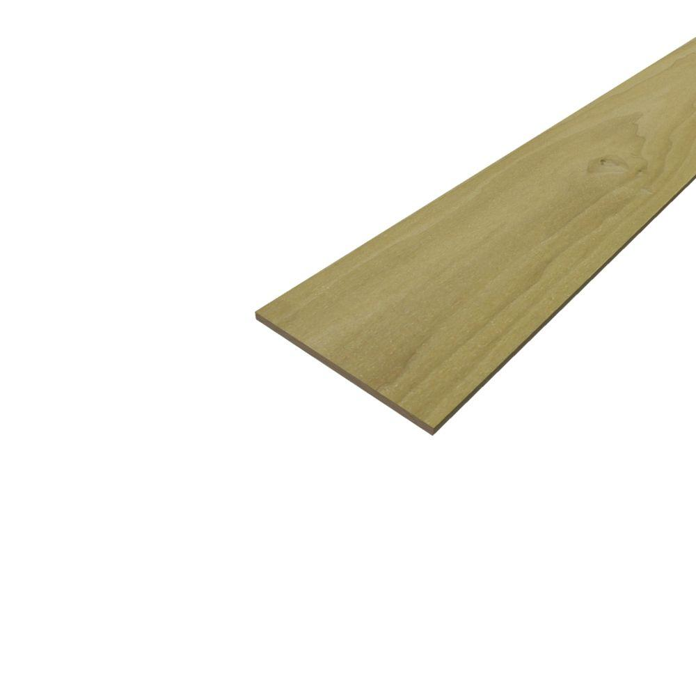 Sure-Wood Forest Products Poplar Hobby Board (Common: 1/4 in. x 6 ...