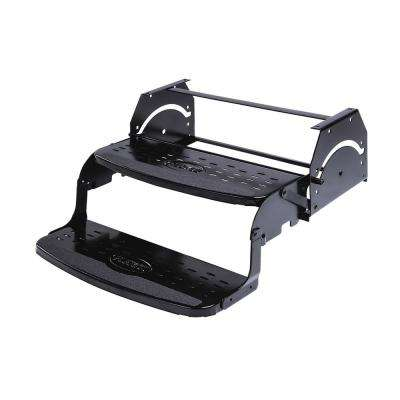 24 in. Double 7.75 in. Rise Manual Coach Steps by Flexco