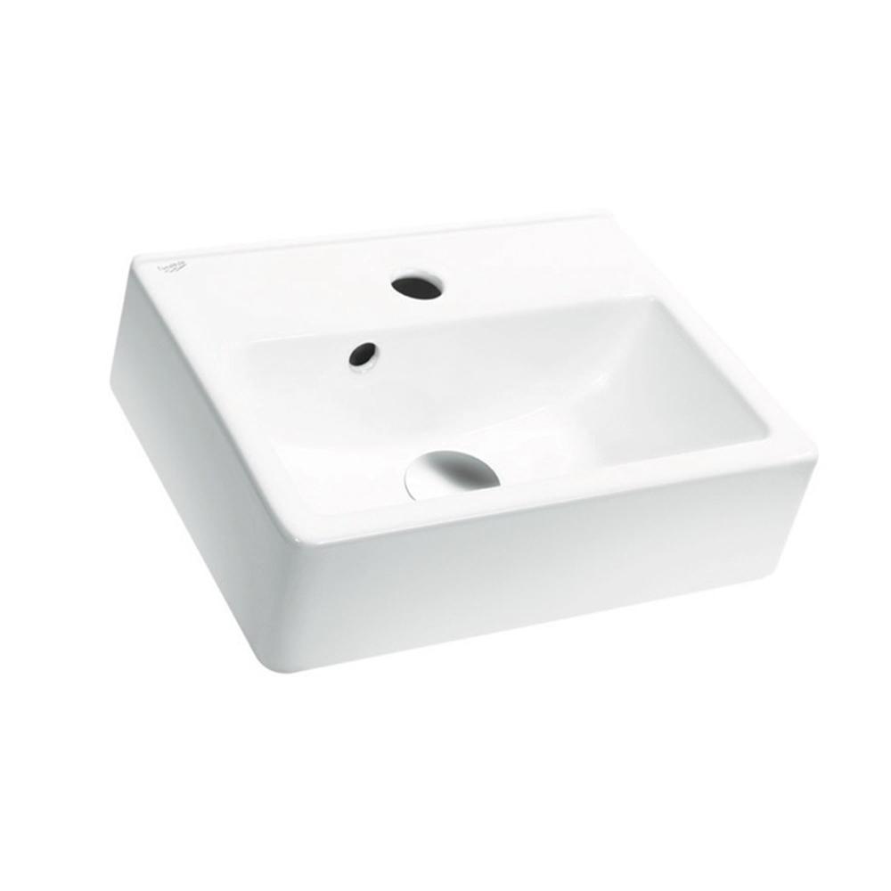 Nameeks Mini Wall Mounted Bathroom Sink In White