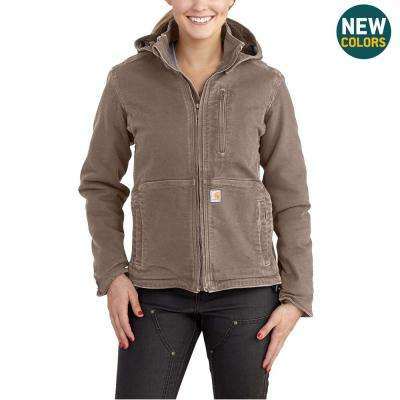 Women's X-Small Taupe Gray/Shadow Sandstone Full Swing Caldwell Duck Jacket