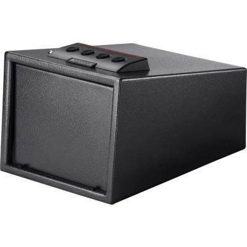 0.23 cu. ft. Steel Electric Keypad Portable Safe, Black