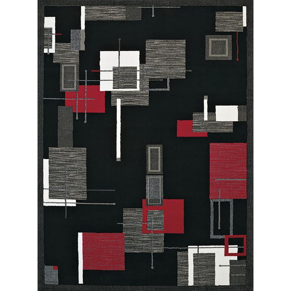 Cafe Brista Red 8 ft. x 11 ft. Oversize Rug