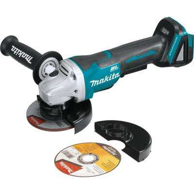 18-Volt LXT Lithium-Ion Brushless 4-1/2 in. Cordless Paddle Switch Cut-Off/Angle Grinder (Tool-Only)