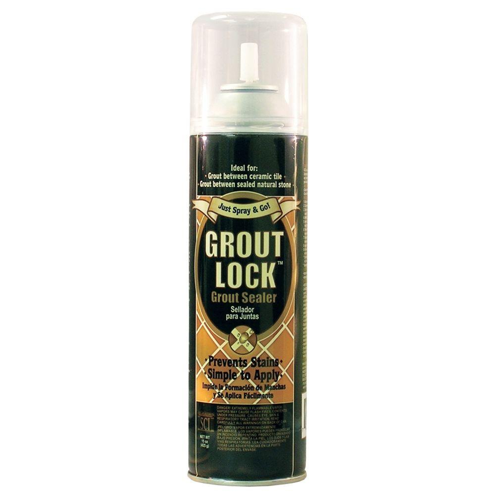 SCI 15 oz. Grout Lock Aerosol Grout Sealer-DISCONTINUED