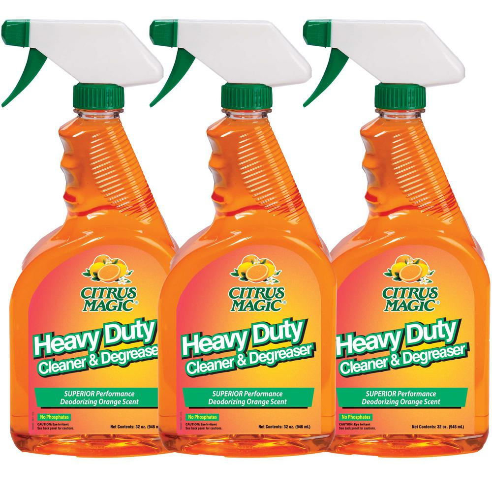 32 oz. Natural Orange Heavy Duty Cleaner/Degreaser (3-Pack)