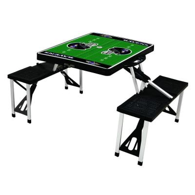 Baltimore Ravens Sport Plastic Outdoor Patio Picnic Table