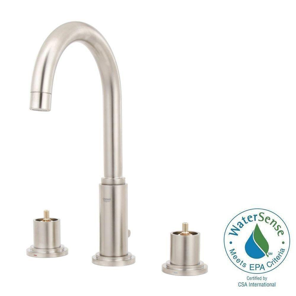 Brushed Nickel Kitchen Sink Faucet