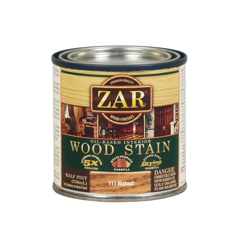 ZAR 111 8 oz. Walnut Wood Interior Stain (2-Pack)