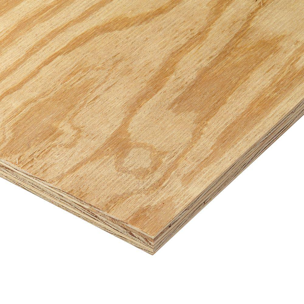 23/32 in  x 4 ft  x 8 ft  RTD Sheathing Syp