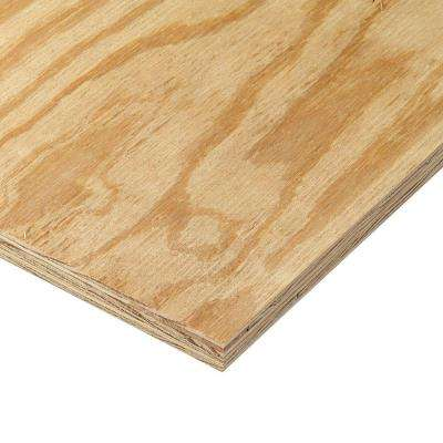 23/32 in. x 4 ft. x 8 ft. RTD Sheathing Syp