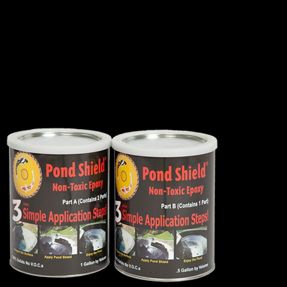 Pond Armor Pond Shield 1.5-gal. Black Non Toxic Epoxy