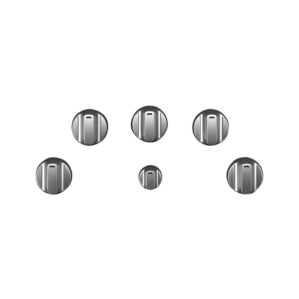 Cafe Electric Cooktop Knob Kit in Brushed Stainless