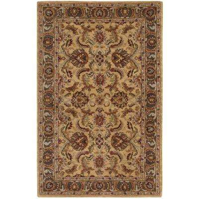 India House Gold 5 ft. x 8 ft. Area Rug