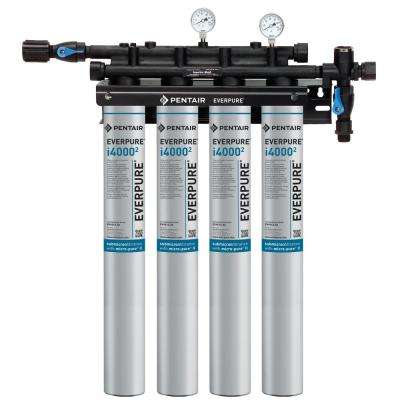 Insurice Quad Commercial Ice Machine Water Filtration System