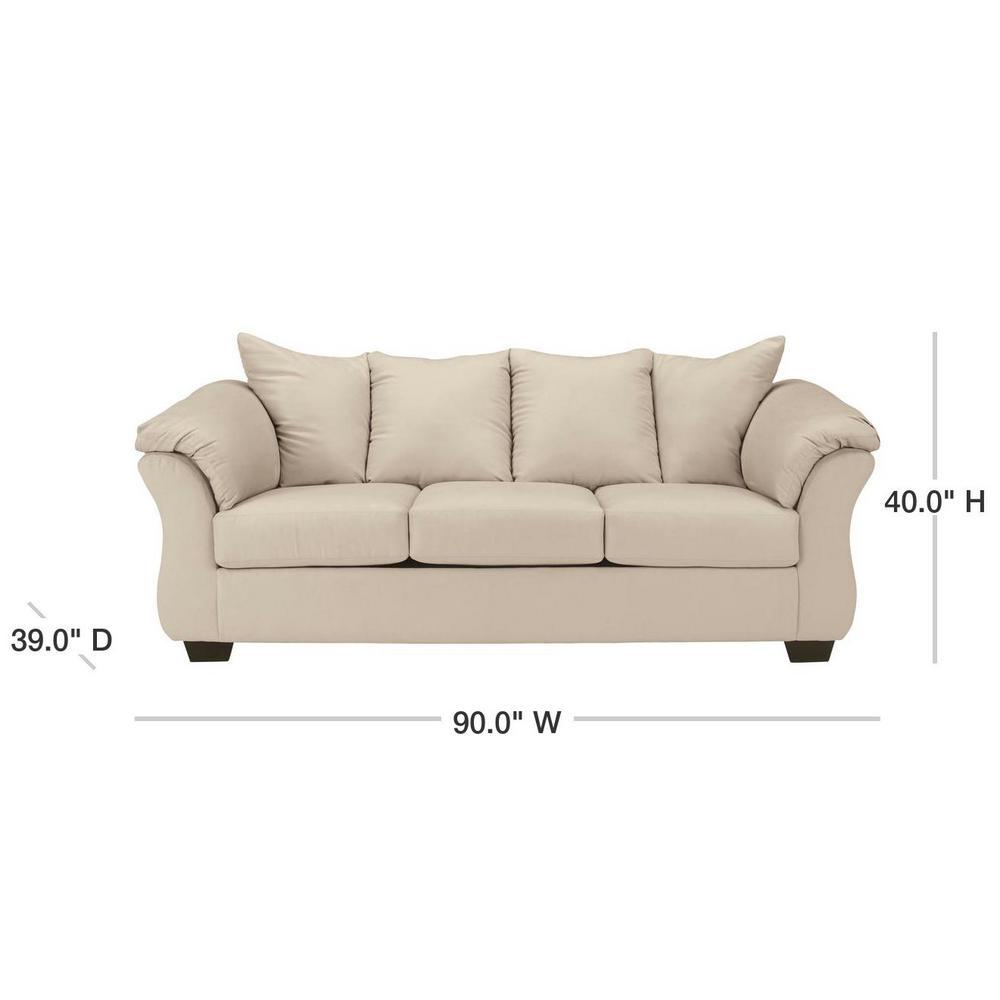Ashley Darcy Stone Fabric Sofa