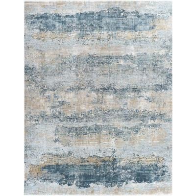 Salvail Charcoal 10 ft. x 14 ft. Area Rug