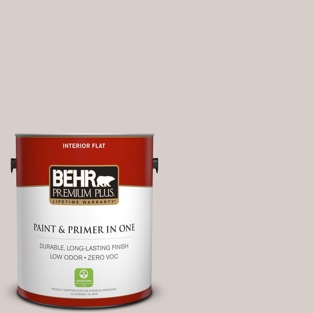 BEHR Premium Plus 1-gal. #T14-7 Offbeat Flat Interior Paint
