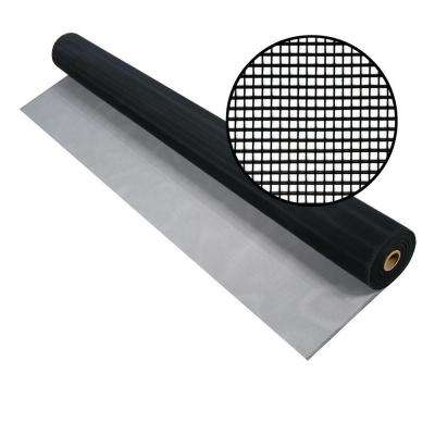 72 in. x 100 ft. Charcoal Aluminum Screen (Tube)
