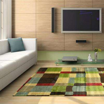 London Multi 8 ft. x 10 ft. Area Rug