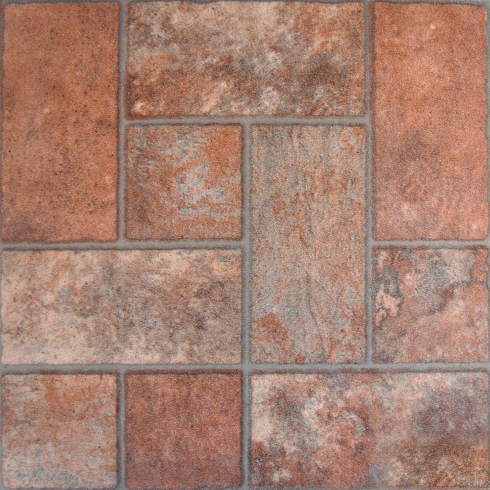 Ceramic glazed tile