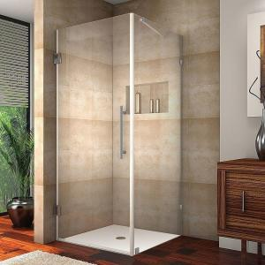 Aston Aquadica 32 In X 72 In Frameless Square Shower