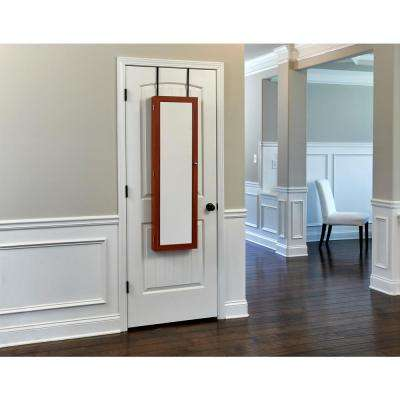 Cherry Mirrored Jewelry Armoire